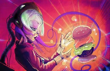 Sci- Fi girl