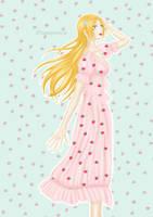 Strawberry dress Orihime by Celia-D