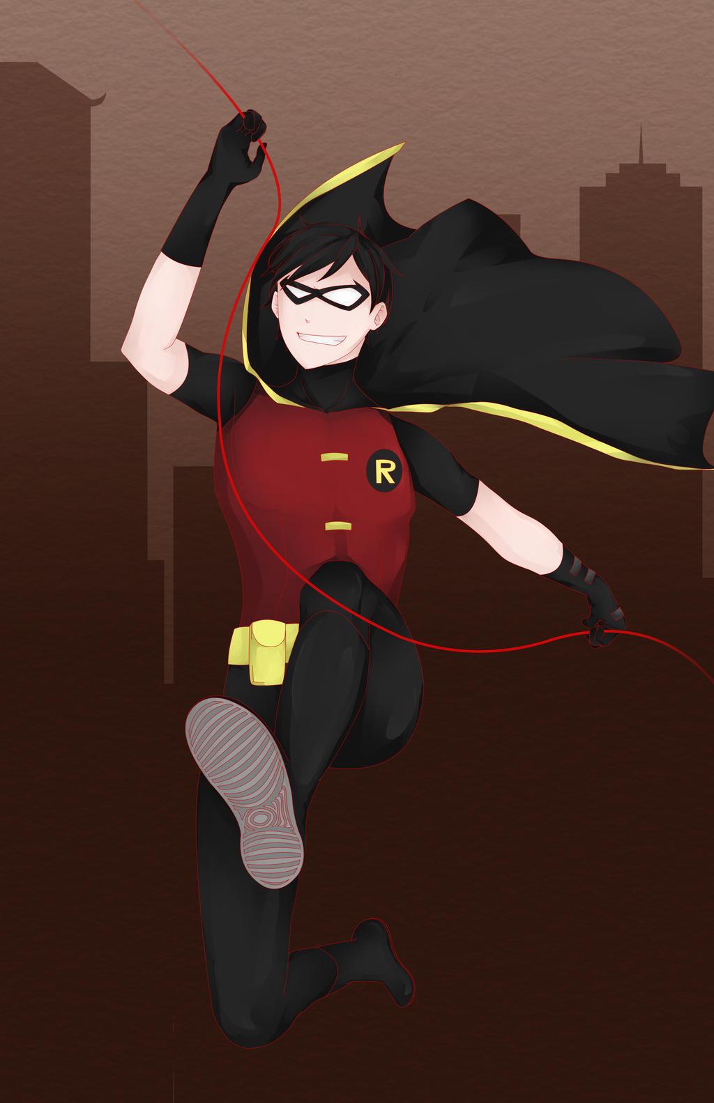 Young Justice by lemonokashi