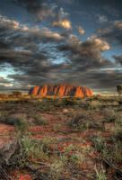 Australia 1: Uluru by eso-teric