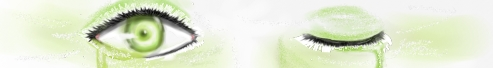 Green eye by Mishii-C