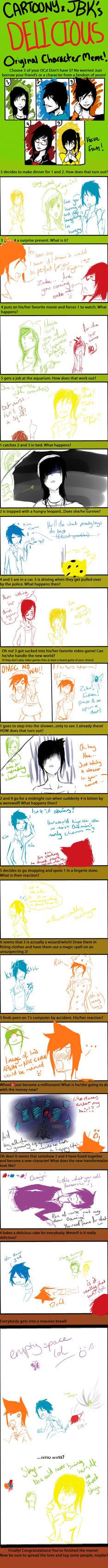 OC meme by Mishii-C