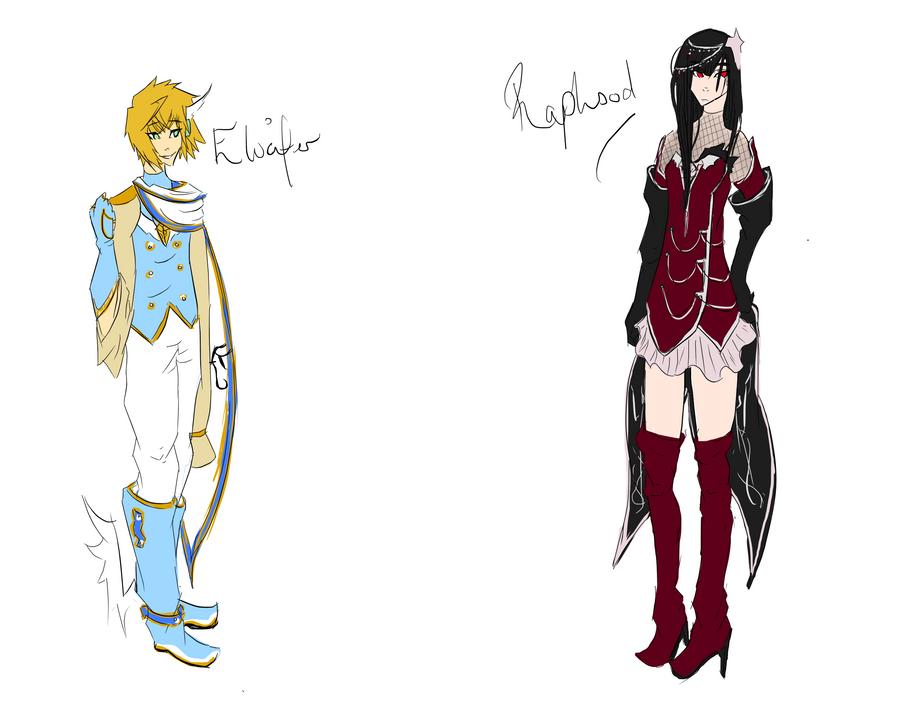 Elucifer and Raphsody by Mishii-C