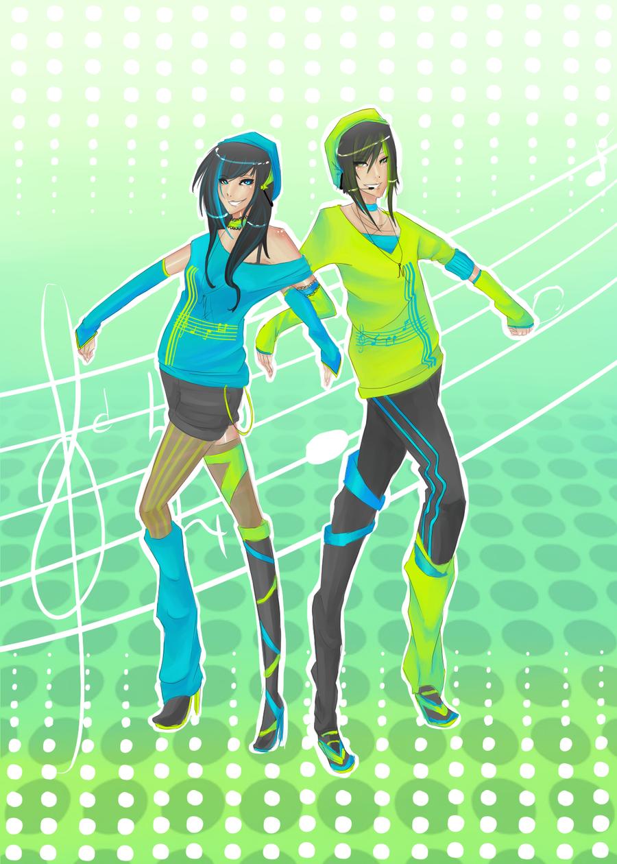 Mishii and Mareth by Mishii-C