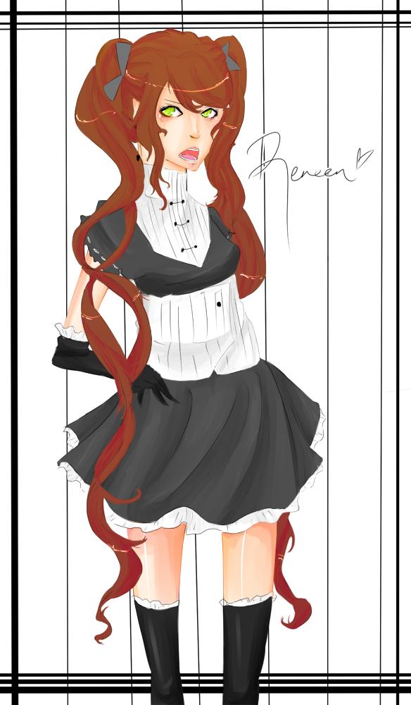 Reneen scribble by Mishii-C