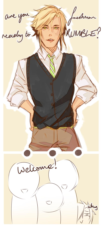 Haikyuu-Ken || And He Tries by Mishii-C