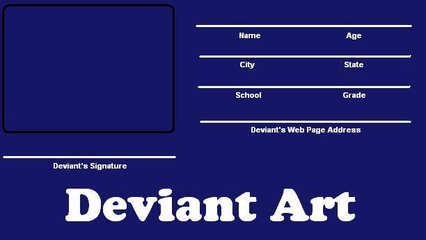Blank Deviant ID card 3 by DiKeih1 on DeviantArt