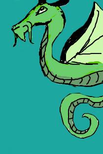 Dragon sketch by Sumbunnyluvsu77