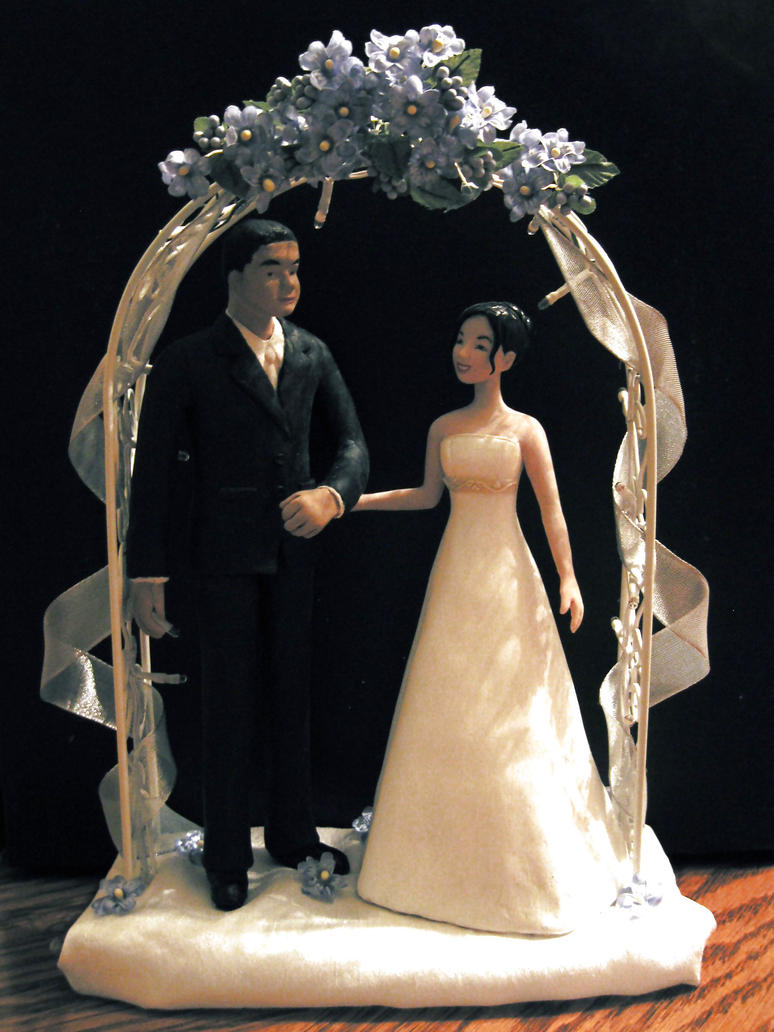 Artist Wedding Cake Toppers : wedding  cake toppers  by dollover on DeviantArt