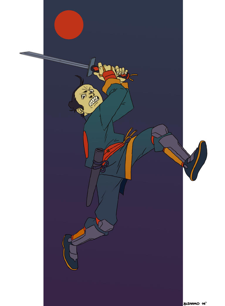 Samurai-4fun by Bizarroman
