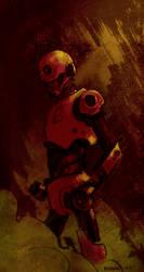 Robotred by Bizarroman