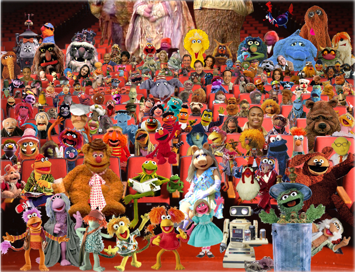 Image result for picture of all the muppets