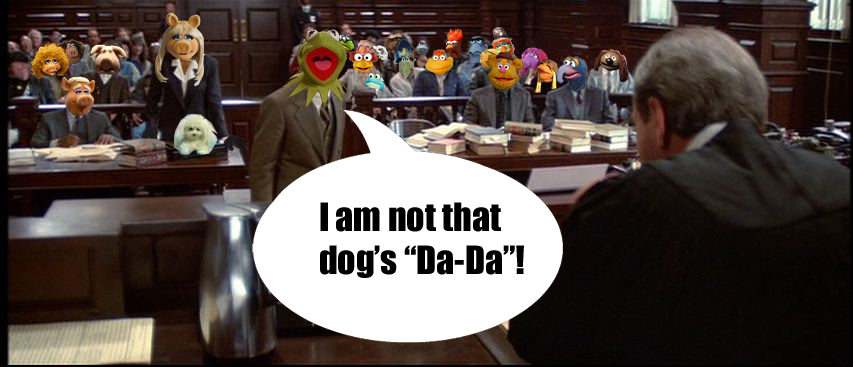 Image result for muppets in court