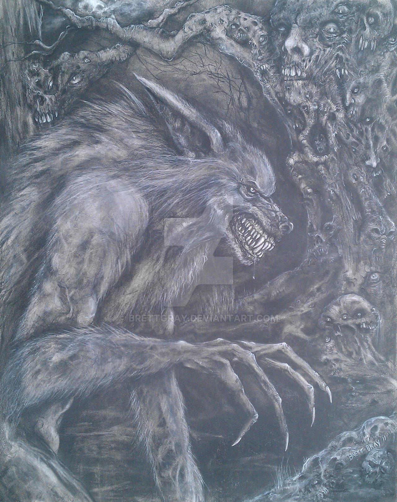 Lycanthrope by brettgray