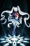 Weiss Schnee x Hatsune Miku by ApparentSalt