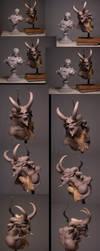 Pegaso Demon Bust 3 by m5m5c5