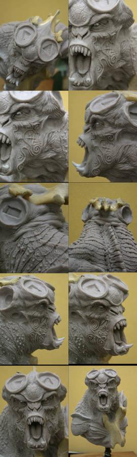 Pegaso Demon Bust 7