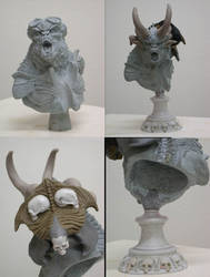 Pegaso Demon Bust 14 by m5m5c5