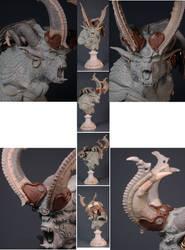 Pegaso Demon Bust 15 by m5m5c5