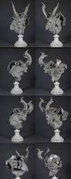 Pegaso Demon Bust 17 by m5m5c5