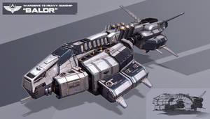 Balor - empire frigate by KypcaHT