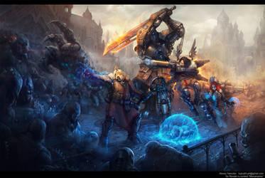 Battle Chronicle by KypcaHT