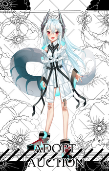 [closed] Adoptable Auction Dragon girl