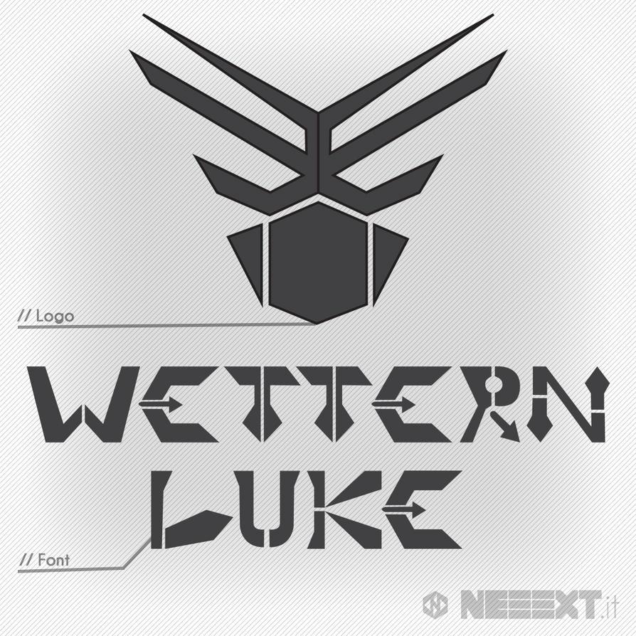 Wettern Luke logo and font by NEEEXT