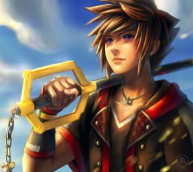 Kingdom Hearts 3: Sora by xiaofanchuanart