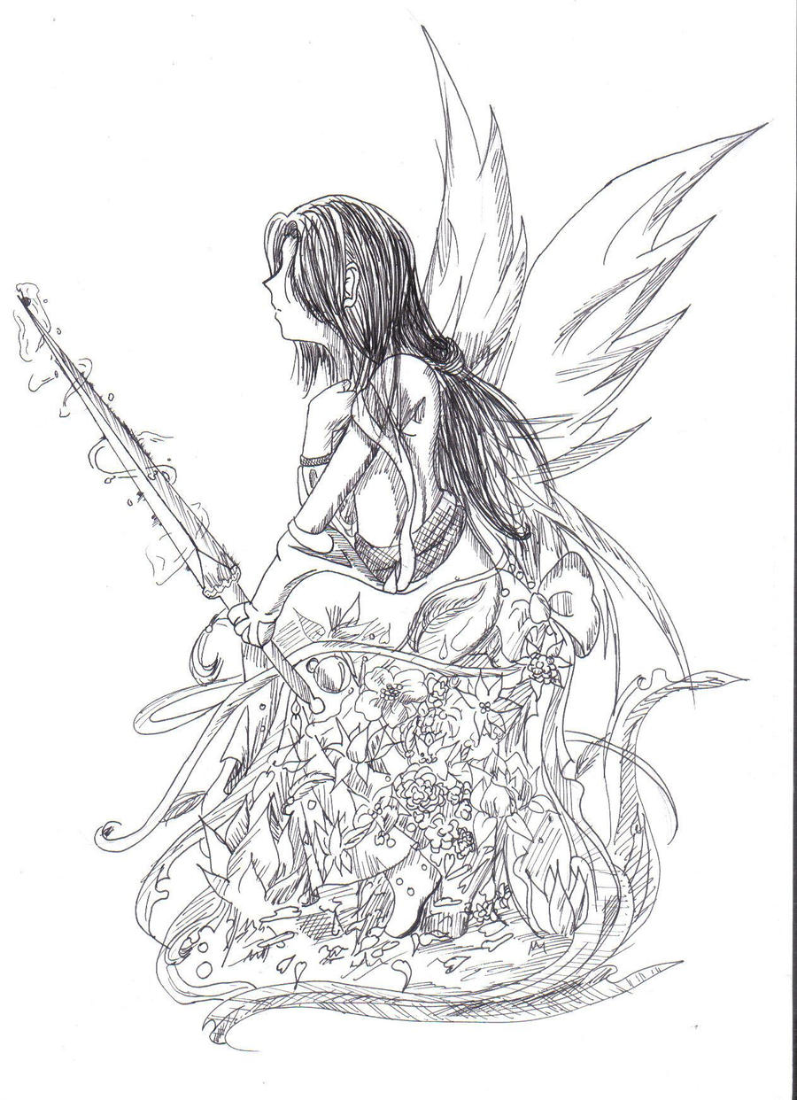 Like an Angel...... by LadyBlackKill
