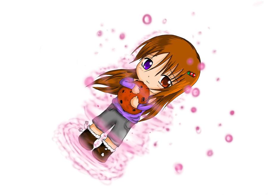 She likes cookies- Teraharu by LadyBlackKill