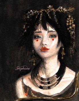 Watercolour Portrait Study