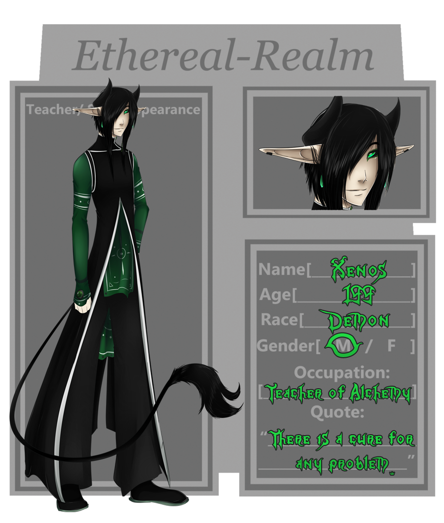 Ethereal-Realm - Xenos by Bellareena