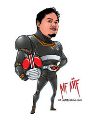 Ajif Kamen Rider Black by Mf-Ajif
