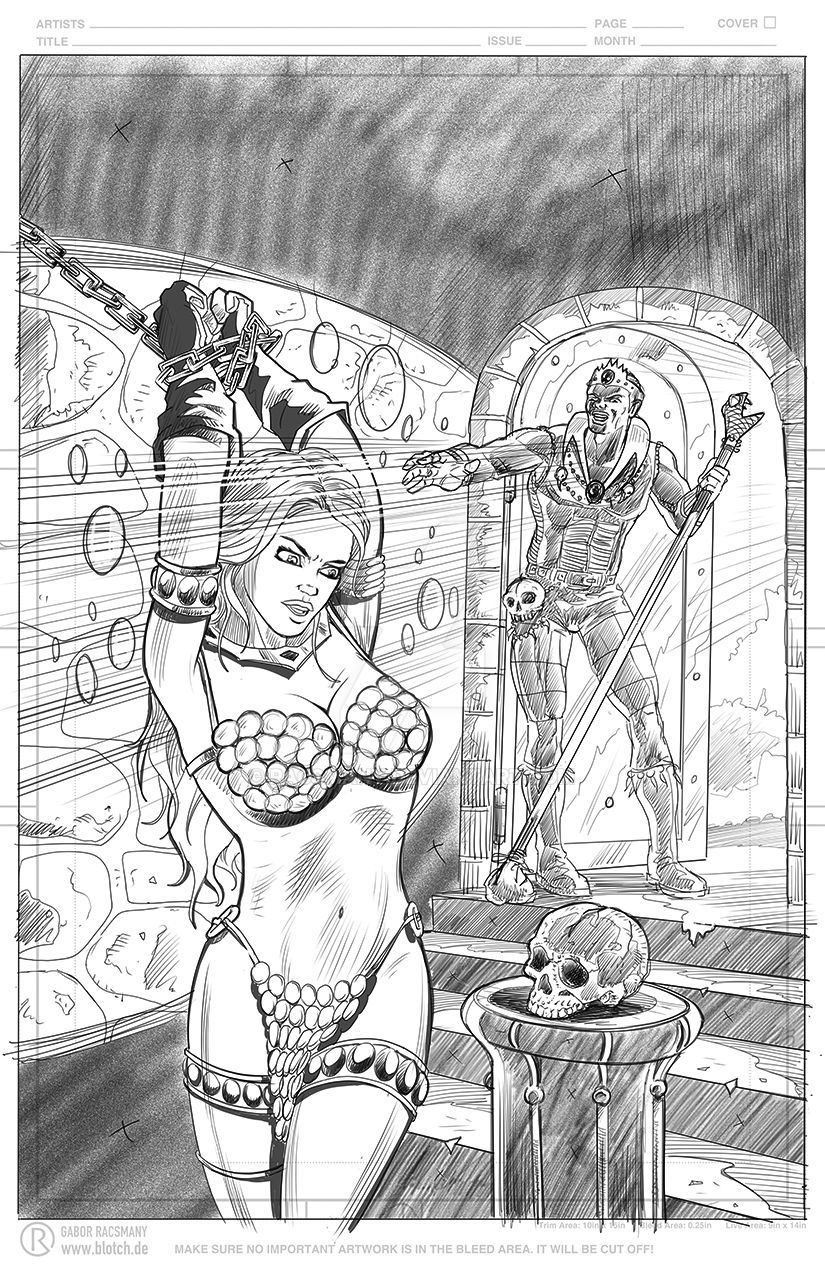 Red Sonja Sequentials: sample script by racsmany