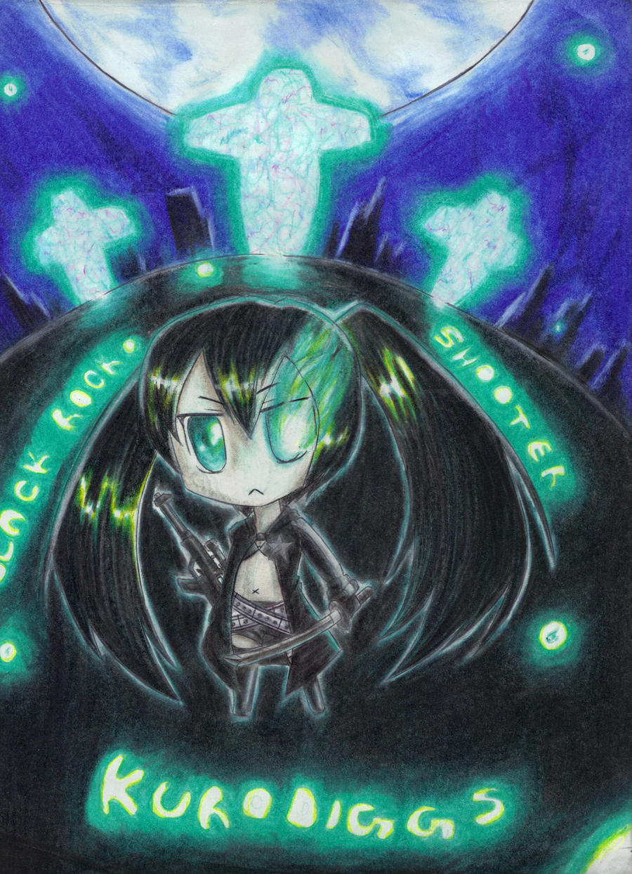 Black Rock Shooter by Kurodiggs