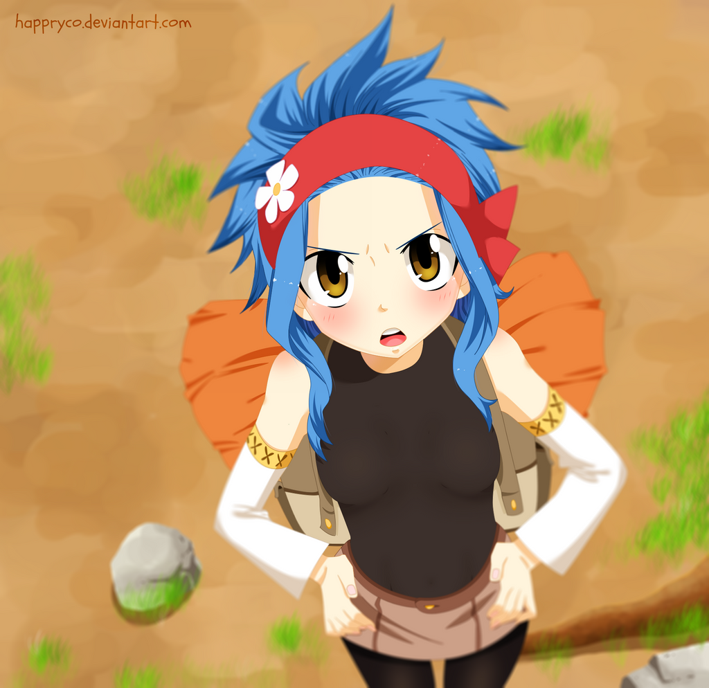 Levy - Fairy Tail 441 by Happryco on DeviantArt