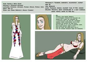 Gabriella reference sheet
