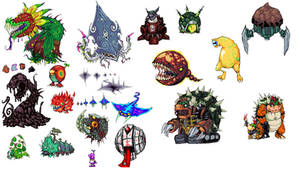 Mario sunshine all bosses