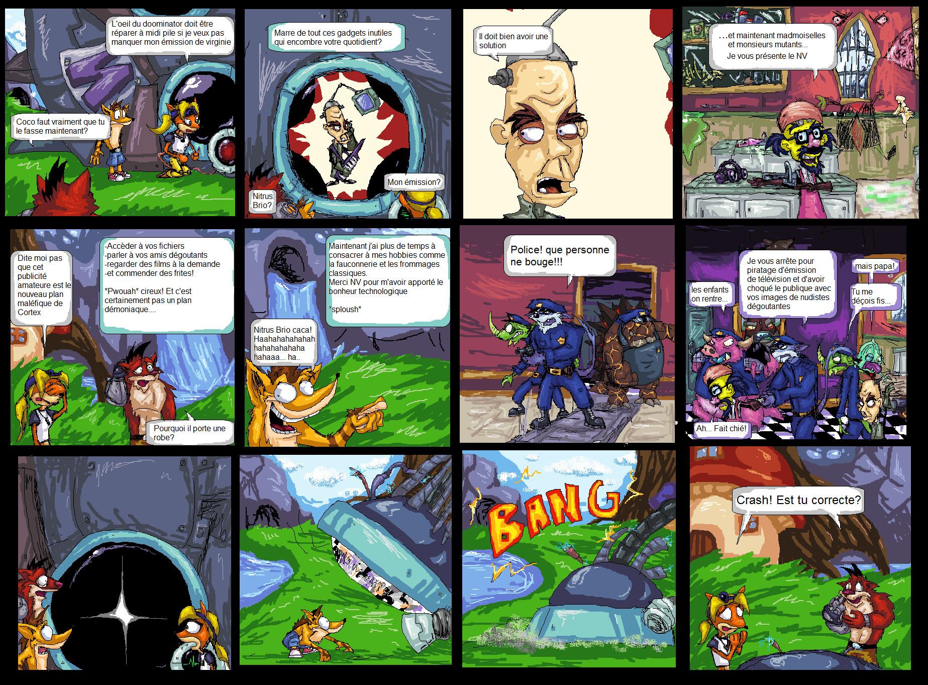 Crash generation mutant remake by NitendoFan92