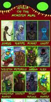attack of the monster meme by NitendoFan92