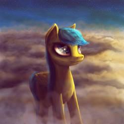Raindrops pony