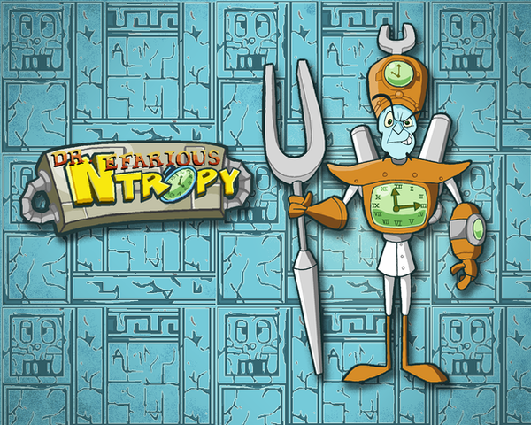 Dr. N. Tropy Wallpaper by E-122-Psi