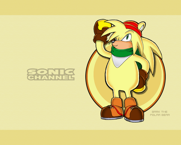 Sonic Channel Bark Wallpaper by E-122-Psi