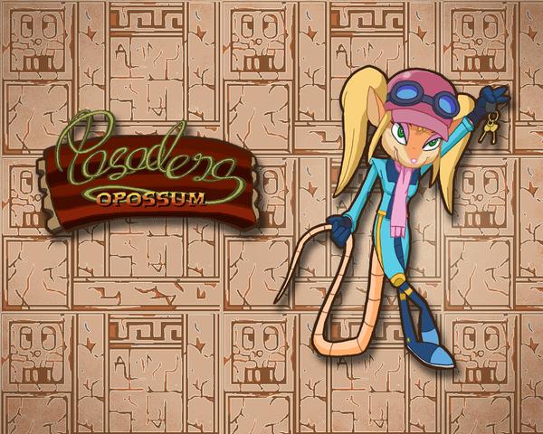 Pasadena O' Possum Wallpaper by E-122-Psi