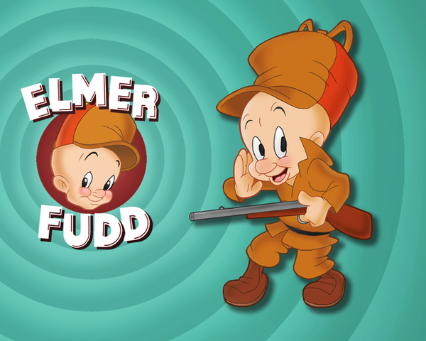 Elmer Fudd Wallpaper by E-122-Psi