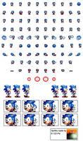 DrMBM Sonic Sprite Sheet