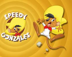 Speedy Gonzales Wallpaper by E-122-Psi