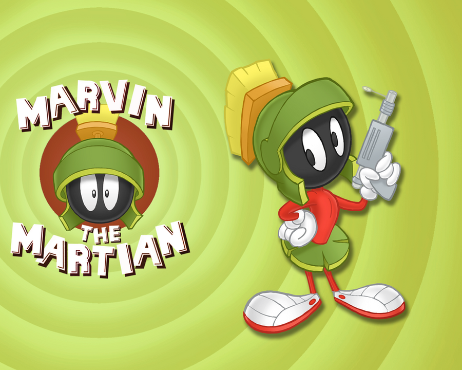 gallery for marvin the martian wallpaper
