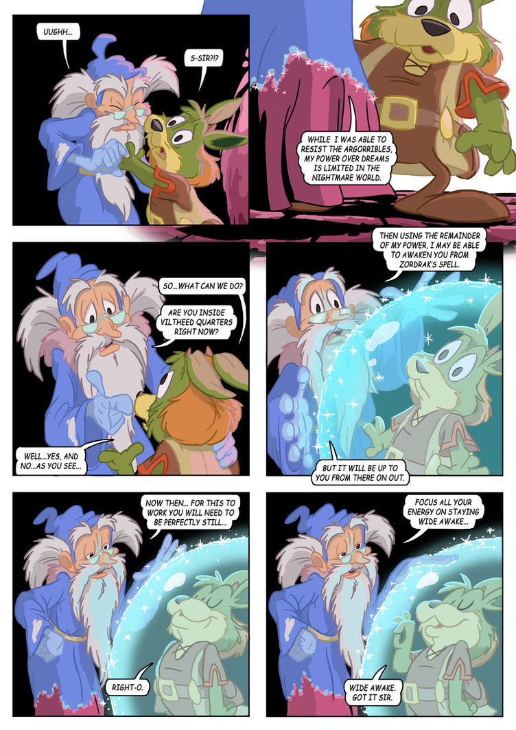 Rufus' Bad Dream Page 77 by E-122-Psi